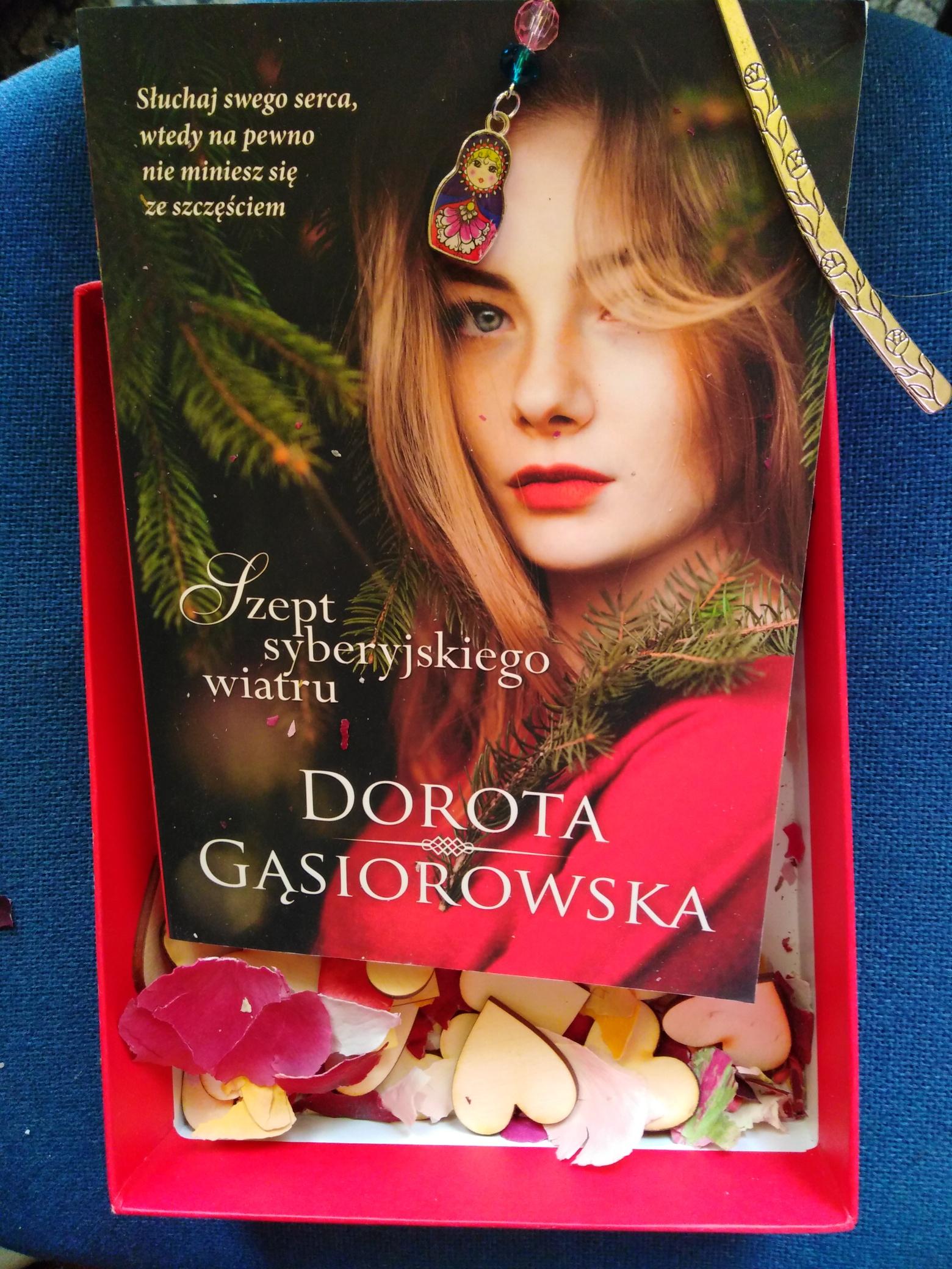 Szept syberyjskiego wiatru – Dorota Gąsiorowska